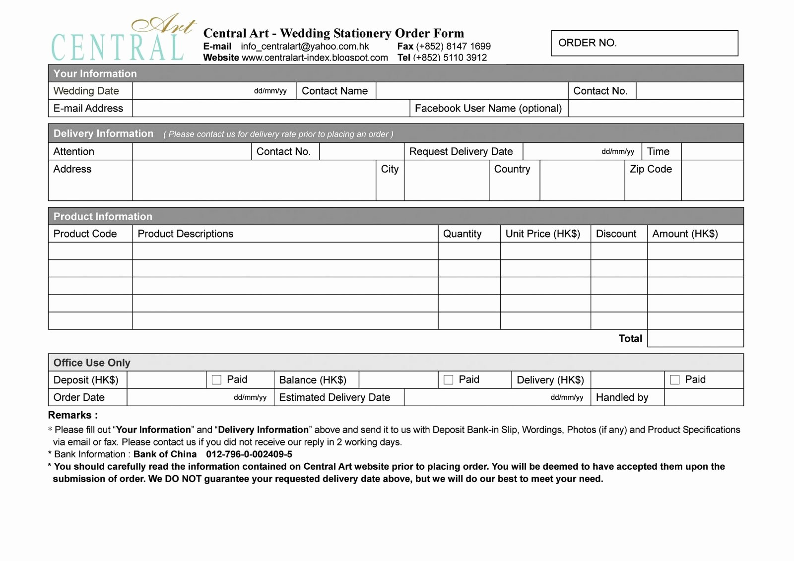 Wedding Flowers order form Template Elegant Free Wedding Invitation Samples Wedding Plan Ideas