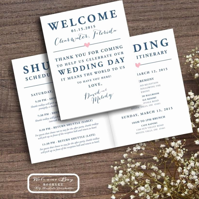 Wedding Guest List Print Out Elegant Wedding Itinerary Template for Out Of town Guests Seven