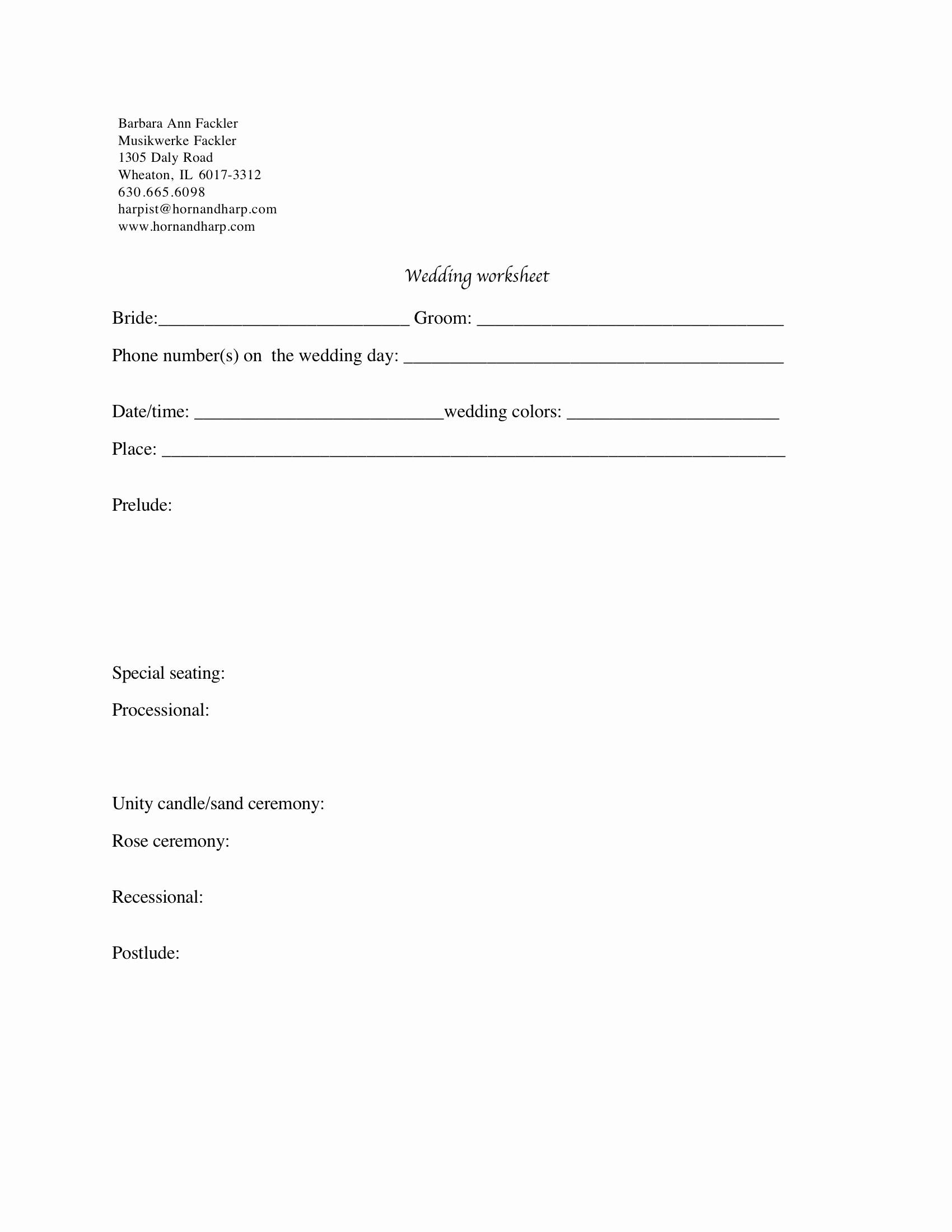 Wedding Guest List Worksheet Printable Inspirational 15 Best Of Wedding Guest List Worksheets