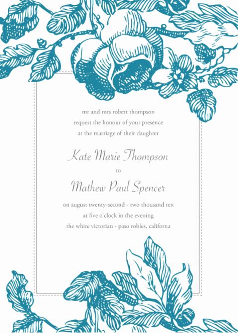 "Wedding Invitation Template Word Free Beautiful ""i Do"" Bud Weddings Free Invitation Downloads"