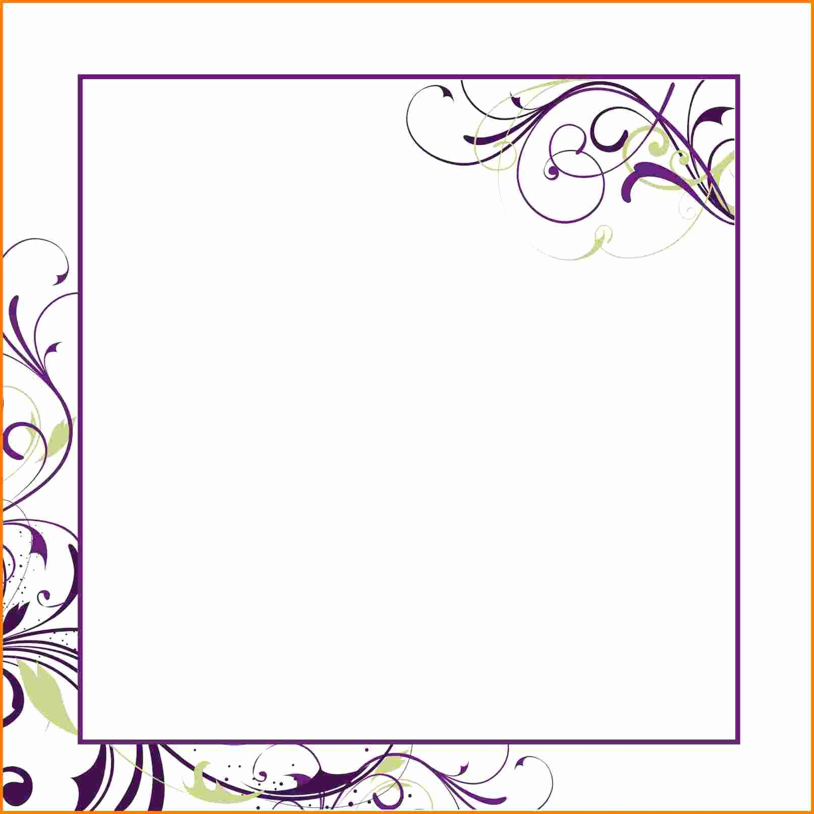 Wedding Invitation Template Word Free Best Of Birthday Invitation Blank Invitation Templates Superb