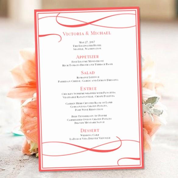 Wedding Invitation Template Word Free Inspirational 43 Wedding Templates Word
