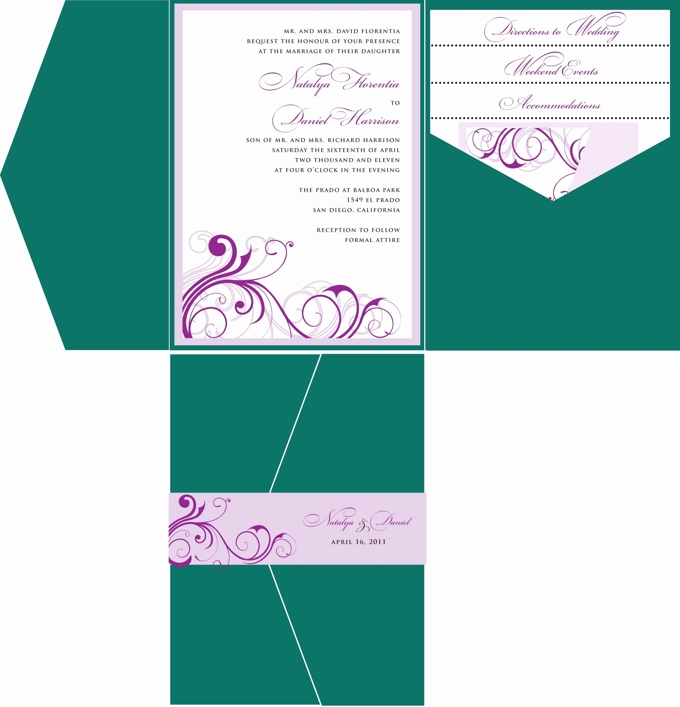 Wedding Invitation Template Word Free Luxury Wedding Invitations Template Wedding Invitations