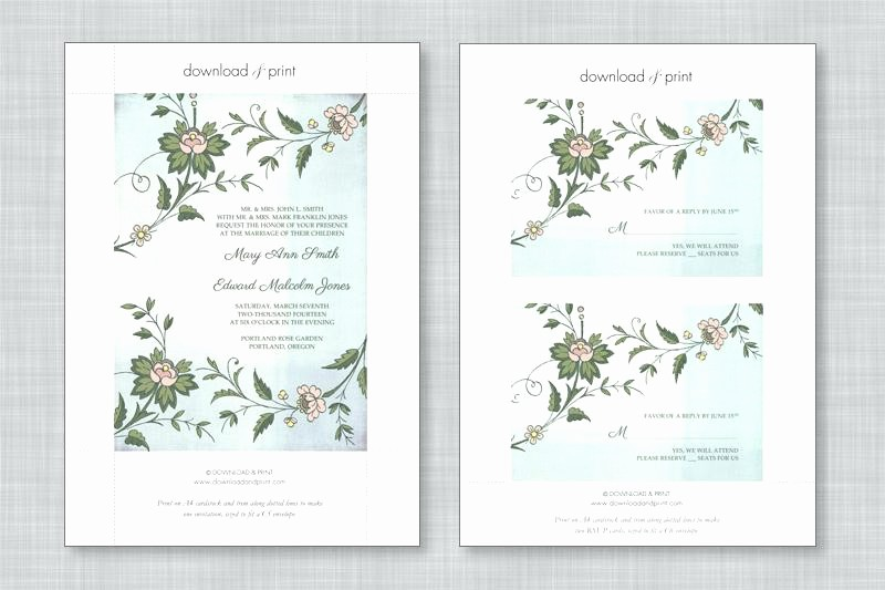 Wedding Invitations Templates Microsoft Word Beautiful Free Wedding Invitation Templates for Microsoft Word
