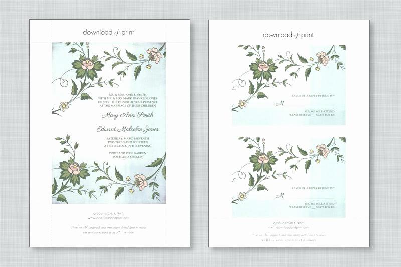 Wedding Invitations Templates Microsoft Word Beautiful Free Wedding Invitation Templates for Microsoft Word
