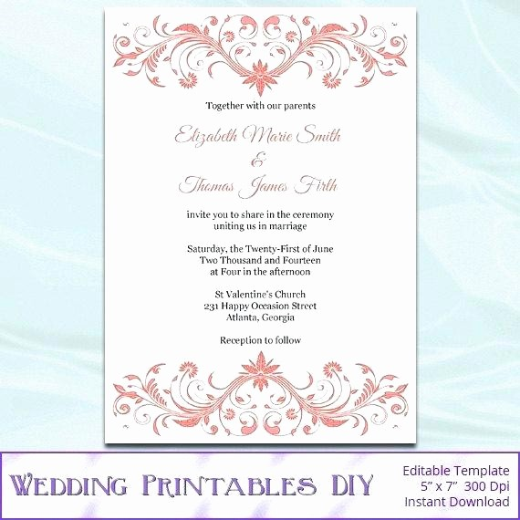Wedding Invitations Templates Microsoft Word Best Of Best Wedding Templates Stationery Invitation