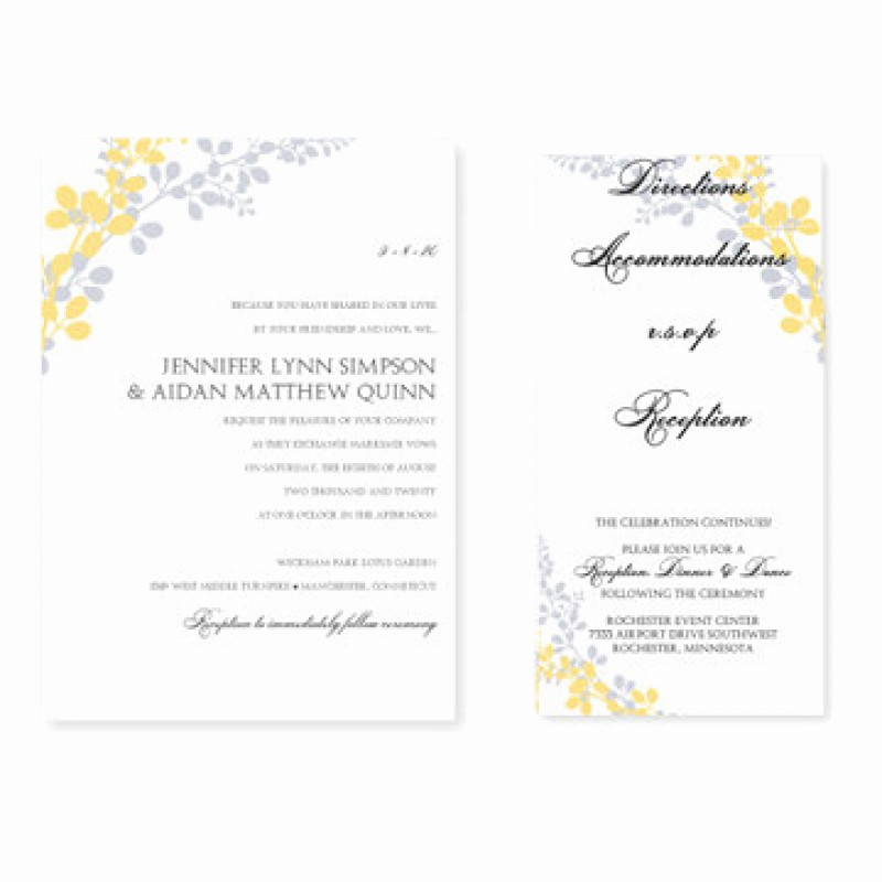Wedding Invitations Templates Microsoft Word Best Of Ms Word Invitation Templates Free Download