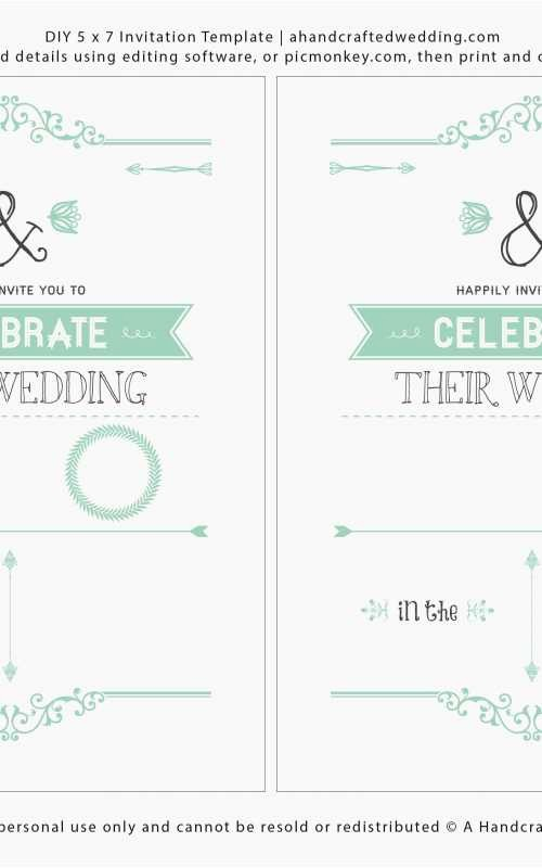 Wedding Invitations Templates Microsoft Word Elegant Microsoft Word Wedding Invitation Templates & formatted