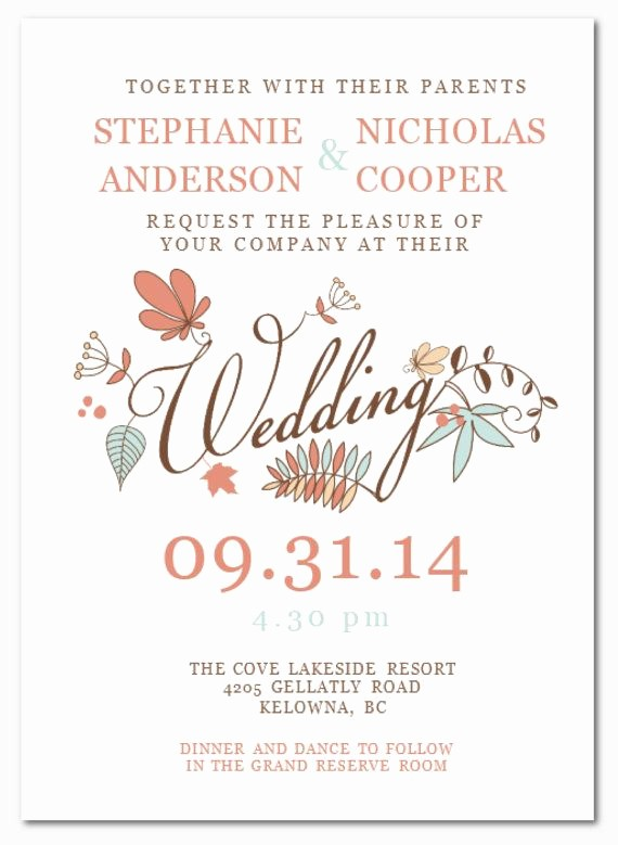 Wedding Invitations Templates Microsoft Word Fresh Wedding Invitation Templates Microsoft Word Wedding