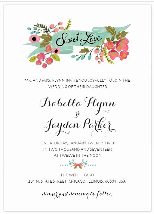 Wedding Invitations Templates Word Free Awesome 529 Free Wedding Invitation Templates You Can Customize