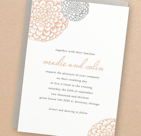 Wedding Invitations Templates Word Free Inspirational Printable Wedding Invitation Template Instant Download