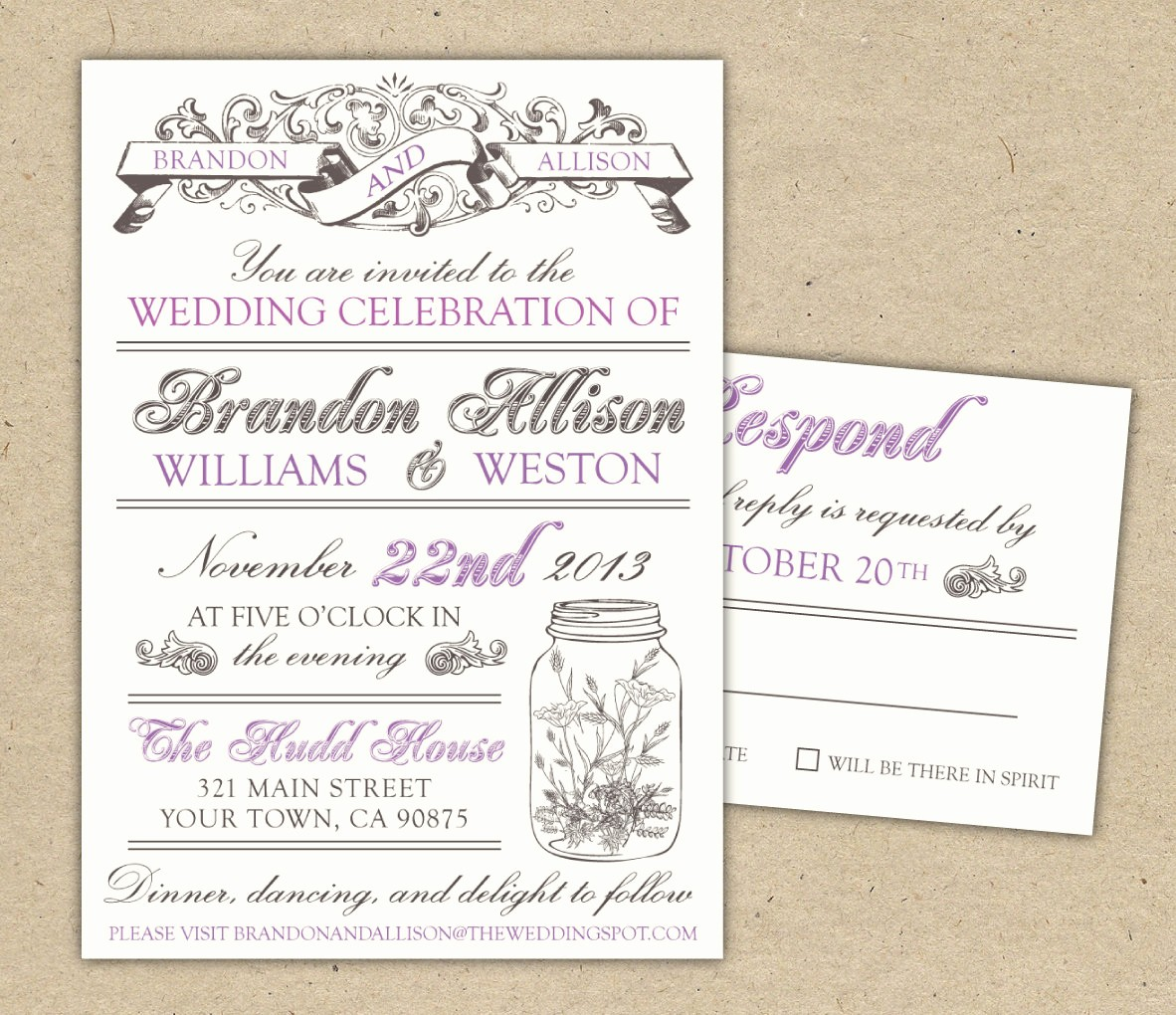 Wedding Invitations Templates Word Free Lovely 30 Unique Vintage Wedding Invitations