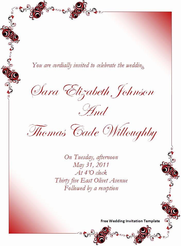 Wedding Invitations Templates Word Free Unique Shabina S Blog Fingerprint Modern Letterpress Wedding