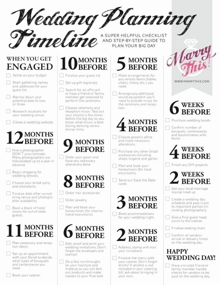Wedding List to Do Template Elegant 25 Best Ideas About Wedding Planning Checklist On