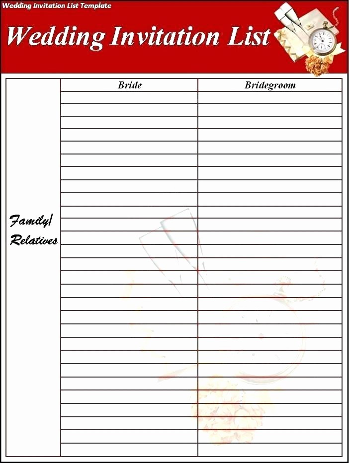 Wedding List to Do Template Inspirational Wedding Checklist Template Excel Uk – Haydenmedia