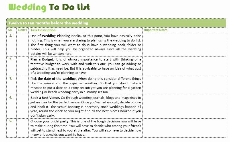 Wedding List to Do Template Lovely 10 Free Sample Wedding to Do List Templates Printable
