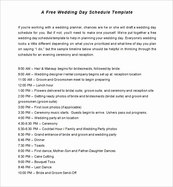 Wedding Planning Timeline Template Excel Awesome 31 Wedding Timeline Templates Psd Ai Eps Pdf Word