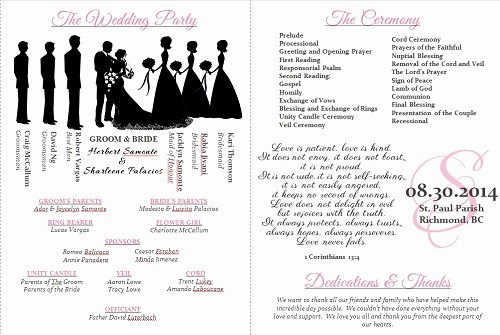 Wedding Programs Templates Free Download Fresh Wedding Program Templates Weddingbee