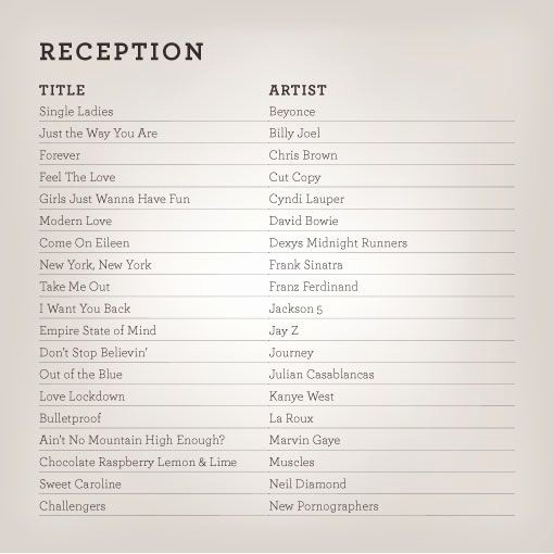 Wedding Reception song List Template Awesome Wedding Playlists Reception Ceremony Pinterest