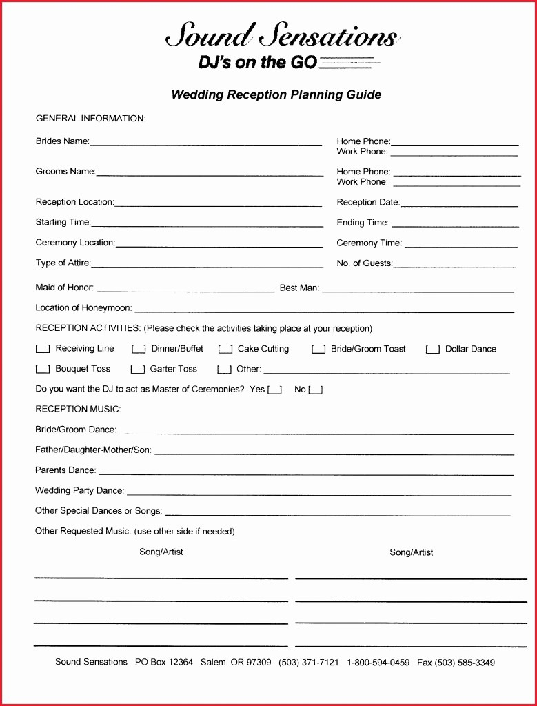 Wedding Reception song List Template Awesome Wedding song List for Dj Template Weding Djor