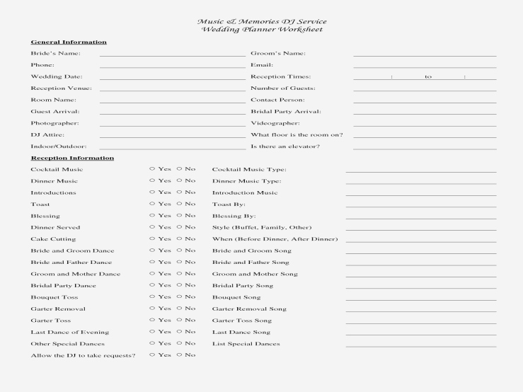 Wedding Reception song List Template Lovely attending List songs for Wedding Reception Can Be A