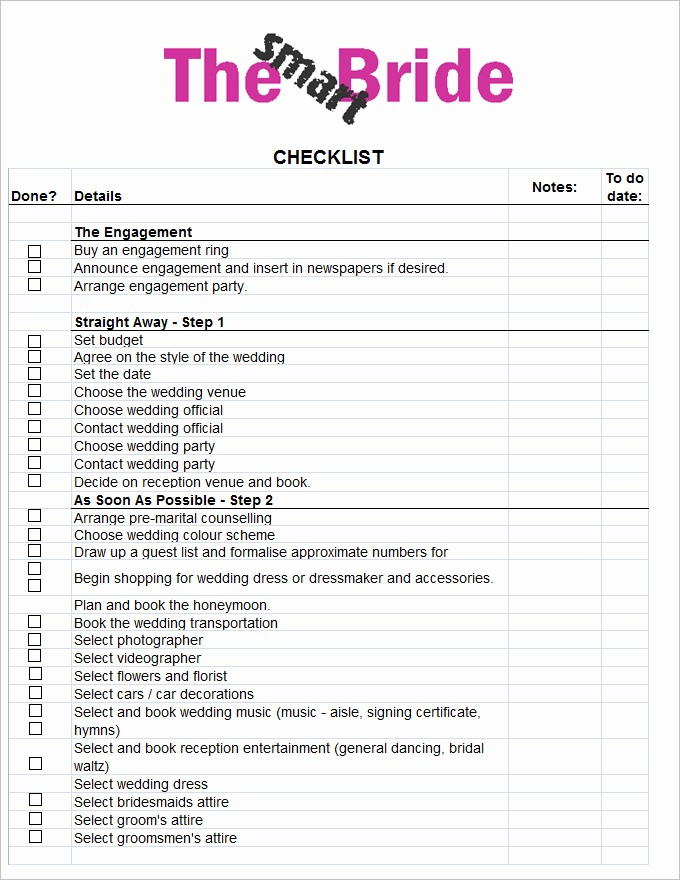 Wedding Reception song List Template New Wedding Checklist Template 20 Free Excel Documents
