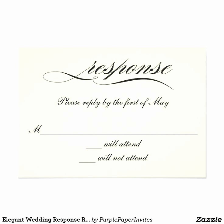 Wedding Response Card Template Free Awesome Wedding Response Card Template Editable Text Word File