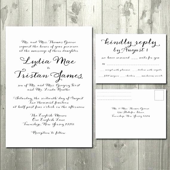 Wedding Response Card Template Free Beautiful Reply Card Template Business Cards Unique Reply Card
