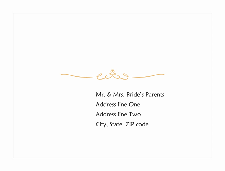 Wedding Response Card Template Free Lovely Download Wedding Response Card Envelope Heart Scroll