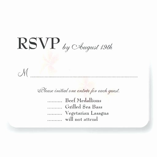 Wedding Response Card Template Free Unique Pink Black Card Wedding Response Template Free Download