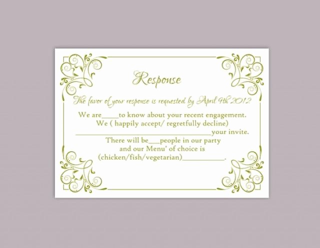 Wedding Response Card Templates Free Elegant Blog Archives Tennesseeinternet