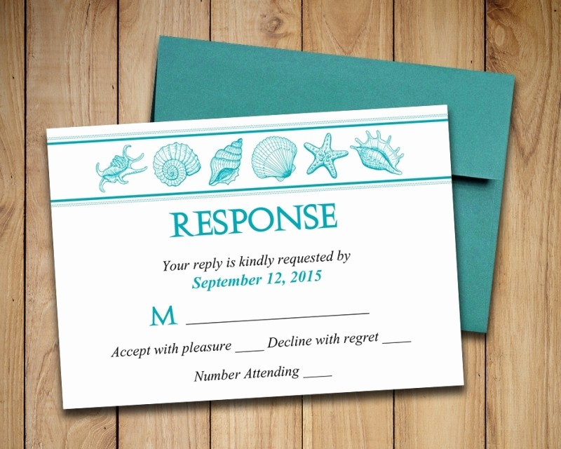 Wedding Response Card Templates Free Fresh Adorable Diy Wedding Invitations and Rsvp Cards Wedding