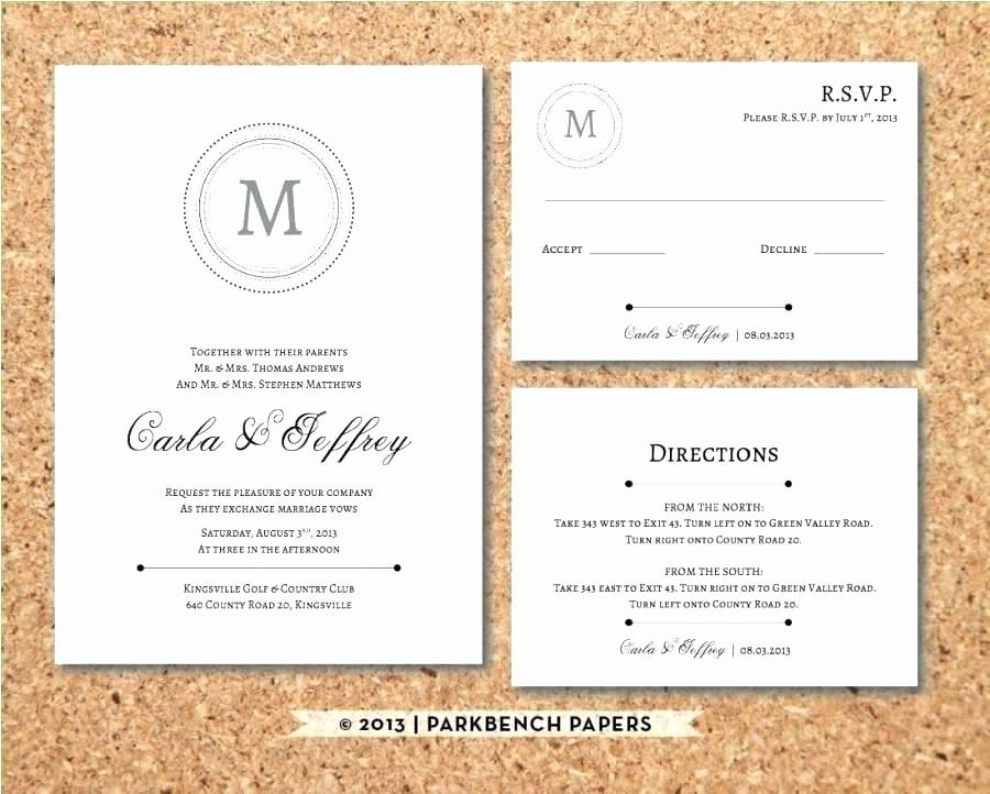 Wedding Response Card Templates Free Fresh Free Rsvp Card Template Word Wedding Editable File Instant