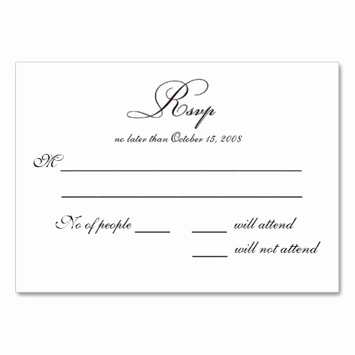 Wedding Response Card Templates Free Inspirational Free Printable Wedding Rsvp Card Templates