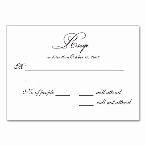Wedding Response Card Templates Free Inspirational Free Printable Wedding Rsvp Card Templates
