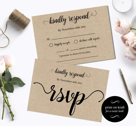 Wedding Response Cards Templates Free Lovely Wedding Rsvp Postcards Templates Rsvp Cards Wedding Diy
