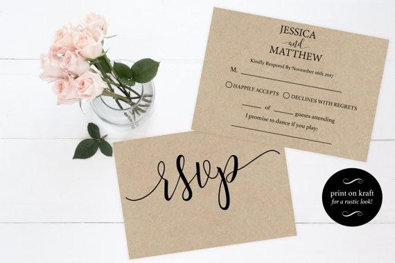 Wedding Response Cards Templates Free Luxury Rsvp Postcards Templates Wedding Rsvp Cards Rsvp