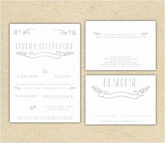 Wedding Response Cards Templates Free New Free Printable Wedding Rsvp Card Templates Choice Image