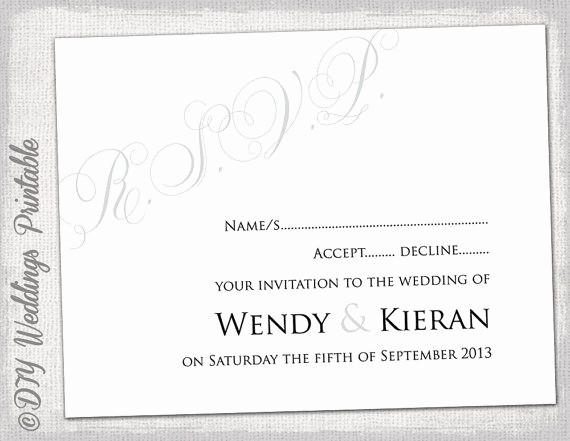 Wedding Response Cards Templates Free Unique 32 Best Rsvp Cards Images On Pinterest