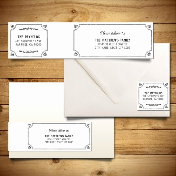 Wedding Return Address Label Template Awesome Download Wedding Mailing Labels Templates – Free Template