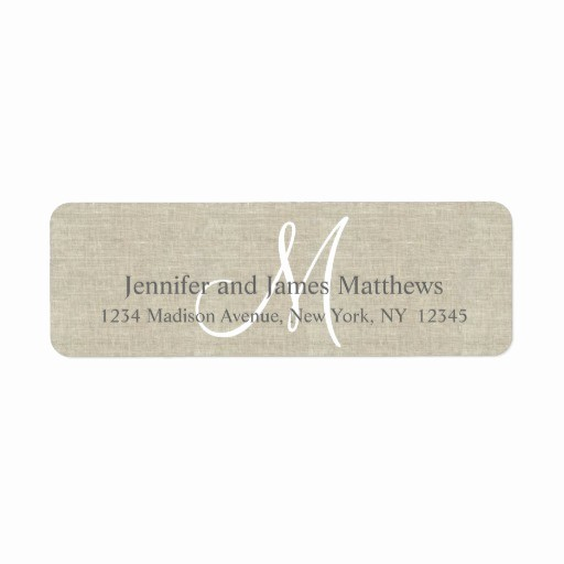 Wedding Return Address Label Template Beautiful Return Address Labels & Templates