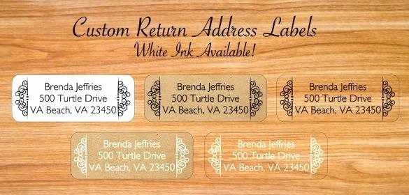 Wedding Return Address Label Template Best Of Wedding Return Address Labels Template