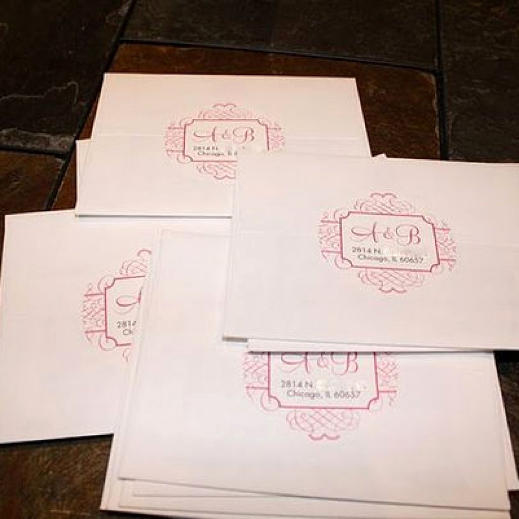 Wedding Return Address Label Template Fresh Clear Mailing Labels where to Put Return Labels On Wedding