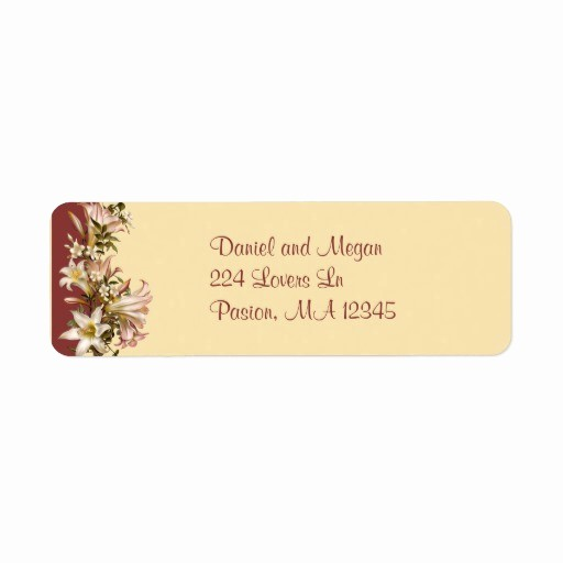Wedding Return Address Label Template Fresh Looking for Answers About Avery Wedding Elegant Swirls Tag