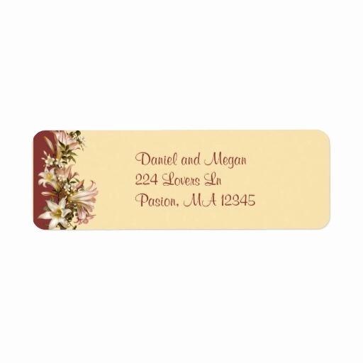 Wedding Return Address Label Template Fresh Looking for Answers About Avery Wedding Elegant Swirls Tag