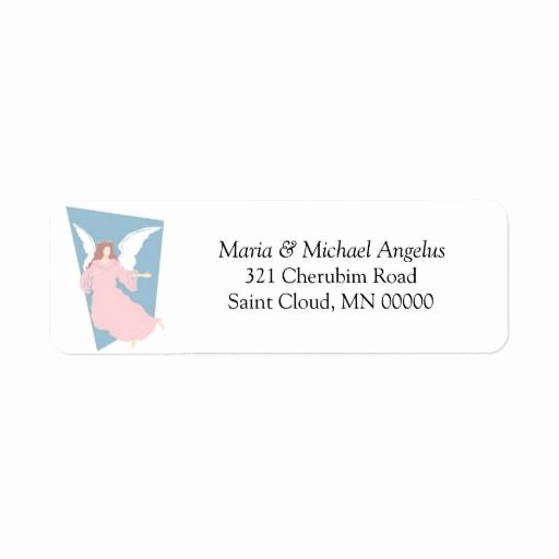 Wedding Return Address Label Template Fresh Religious Wedding Template Invites Envelope Labels Custom