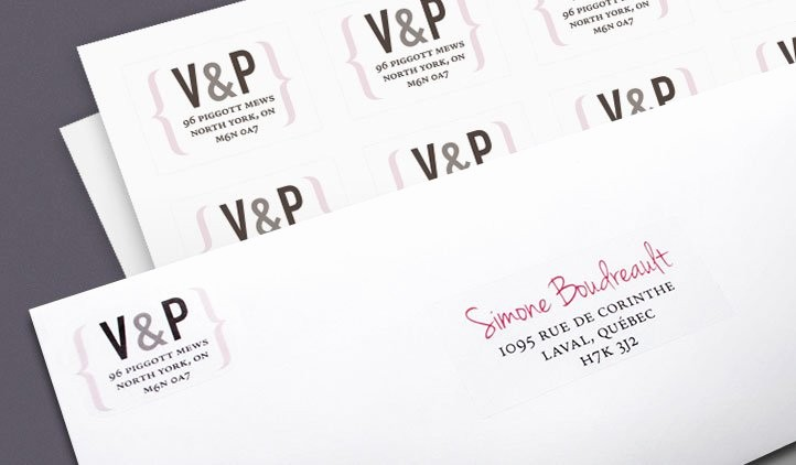 Wedding Return Address Label Template Luxury Wedding Address Labels – Oasis Amor Fashion