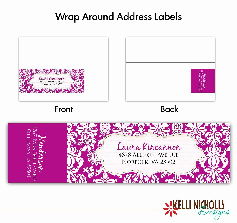Wedding Return Address Label Template Unique Printable Return Address Labels Free