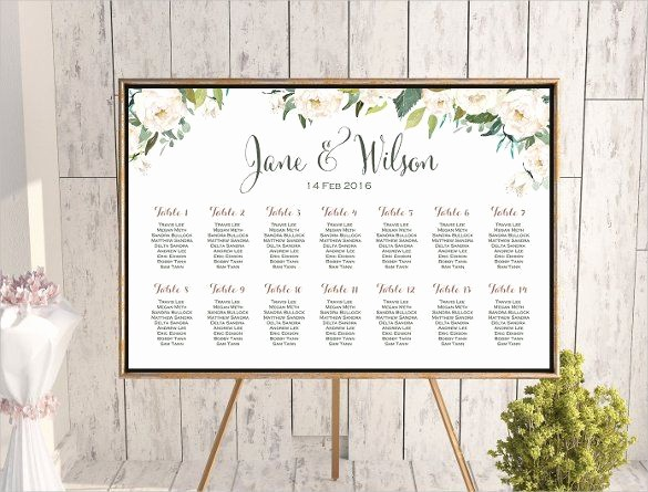 Wedding Seating Charts Templates Free Beautiful Wedding Seating Chart Template Odds N Ends