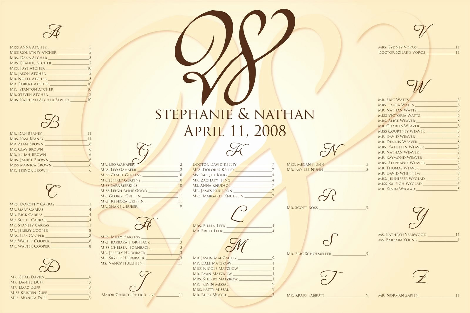 Wedding Seating Charts Templates Free Lovely Wedding Seating Chart Template